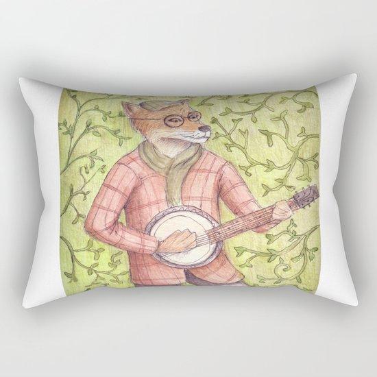 Play us a song Mr. Fox Rectangular Pillow