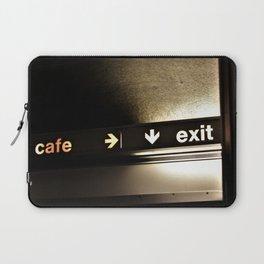 Cafe/Exit Laptop Sleeve