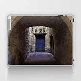 The secret behind the Medieval Blue Door Laptop & iPad Skin