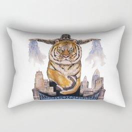 Cincinnati Bengal Tiger Rectangular Pillow