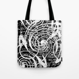 Circular Motion Tote Bag