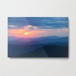 Sunset in Tennessee Metal Print