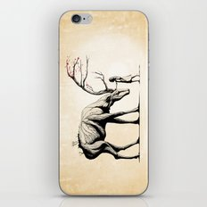 Knowing the Deer Tree iPhone & iPod Skin