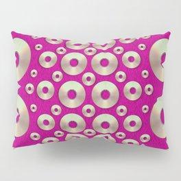 Going gold or metal on fern pop art Pillow Sham