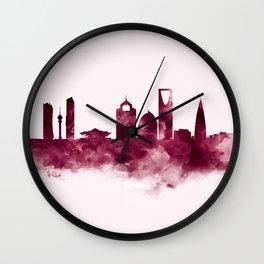 Riyadh Skyline Wall Clock