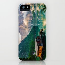 The Place To Be III iPhone Case