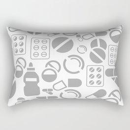 Tablet a background Rectangular Pillow