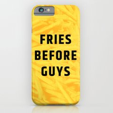 Fries Before Guys (Subtle Halftone) Slim Case iPhone 6s