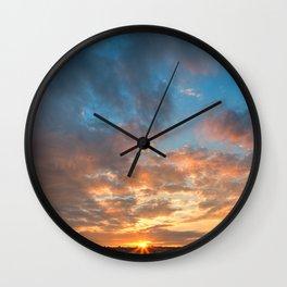 Derry Sunset Wall Clock