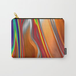 Monochrom Color Splash Abstract Carry-All Pouch