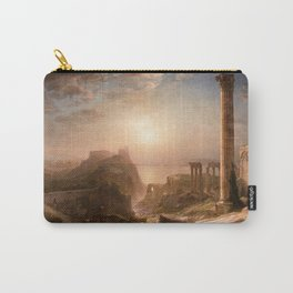 Frederic Edwin Church - Syria by the Sea - Hudson River School Oil Painting Carry-All Pouch