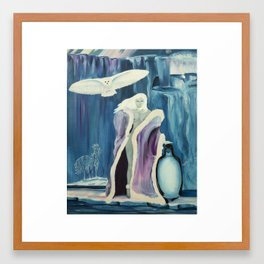 Kathleen art Framed Art Print