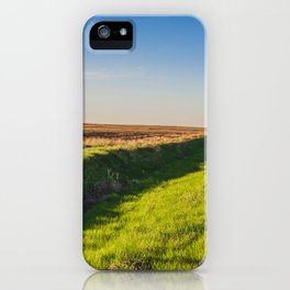 Walkin' on a Country Road 2 iPhone Case