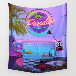 Paradise Wave Wall Tapestry