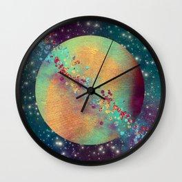 Color Planet Wall Clock