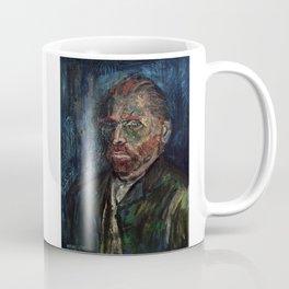 Vincent van Gogh (oil on canvas) Coffee Mug