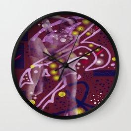 Homage to Balzac n.1 Wall Clock