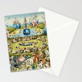 Heironymus Bosch - The Garden Of Earthly Delights Stationery Cards