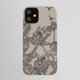 Bees and Clover iPhone Case