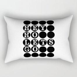 """No pressure, no diamonds"" a beautiful short life quote Rectangular Pillow"