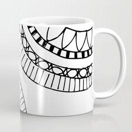 Bohemian Circle Sketch Coffee Mug