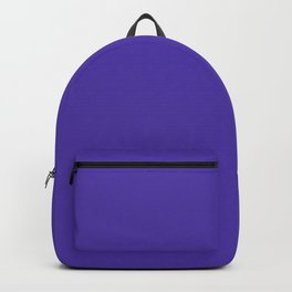 Plant Happiness ~ Violet-Blue Coordinating Solid Backpack