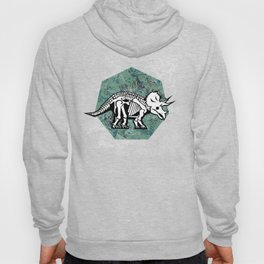 Triceratops Fossil Hoody