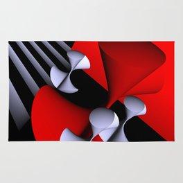 red-white-black -7- Rug
