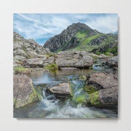 Tryfan Mountain Stream  Metal Print