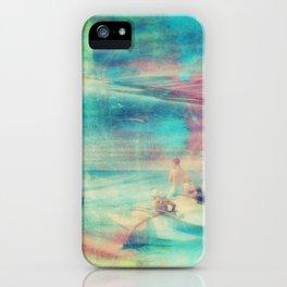 Edward Hopper Graffiti iPhone Case
