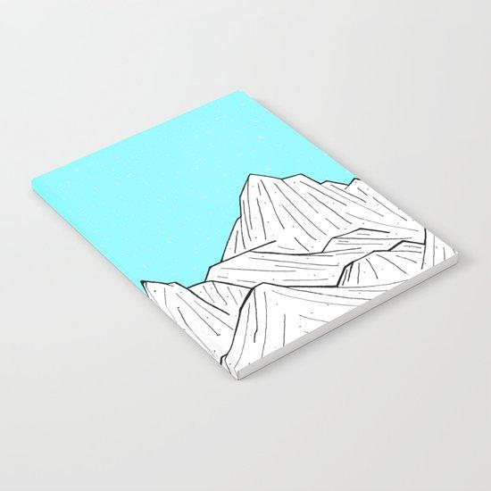 Glacier Mounts Notebook