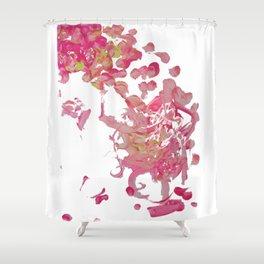 Falling Petals Shower Curtains