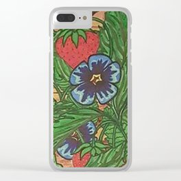 MEMORIES PLANTED Clear iPhone Case
