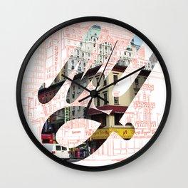 New York Street Corner Wall Clock