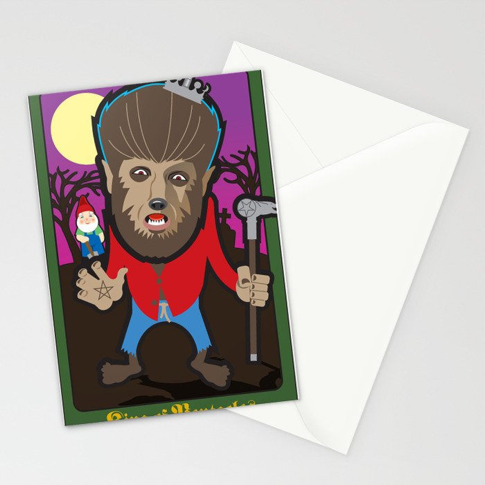 King of Pentacles Stationery Cards