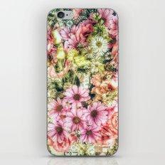 Shabby Chic Floral iPhone & iPod Skin