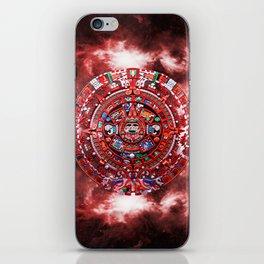 Aztec Calender iPhone Skin
