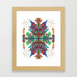 Galactic Cataclysm! Framed Art Print