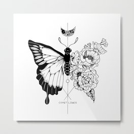 Flower Morphosis Metal Print