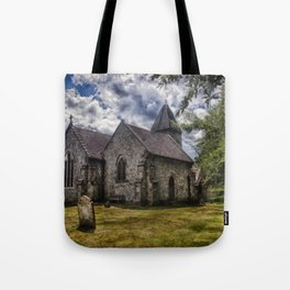 Streat Church Tote Bag