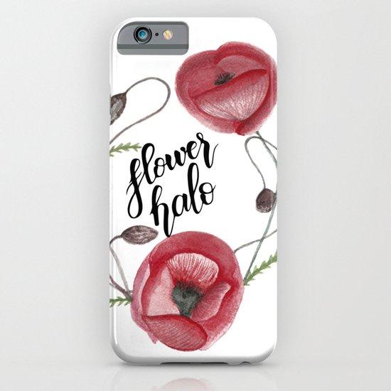 Flower halo iPhone & iPod Case