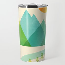Bend in the River Travel Mug