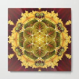 Mandalas for Times of Transition 8 Metal Print