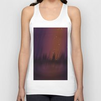 theater Tank Tops featuring Purple Theater by Thedustyphoenix