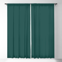 Pantone Forest Biome 19-5230 Green Solid Color Blackout Curtain