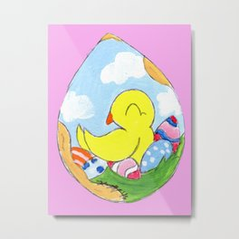 Egg Batch Metal Print