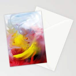 Feather Dance Stationery Cards