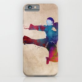 karate sport #karate #sport iPhone Case