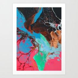 Kystes Art Print