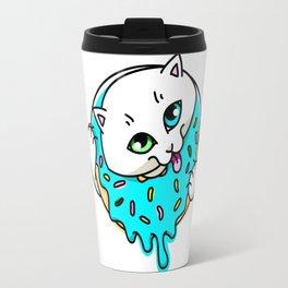 Donut Puss Travel Mug